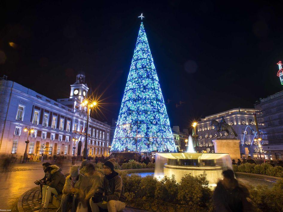 کریسمس در مادرید اسپانیا