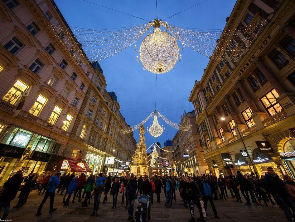 کریسمس در بازار وین