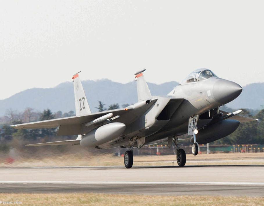 (تصاویر) مانور هوایی مشترک آمریکا و کره جنوبی