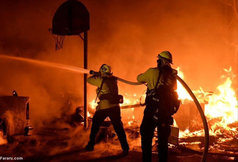 آتش سوزی در کالیفرنیا. (رویترز)