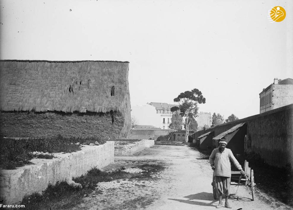 مرد روستایی در الجزایر