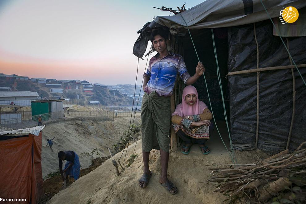 راول امین 20 ساله و ساباکور 15 ساله پس از گریختن به سوی بنگلادش ازدواج کردهاند. پدر ساباکور توسط ارتش میانمار حین فرار کشته شد