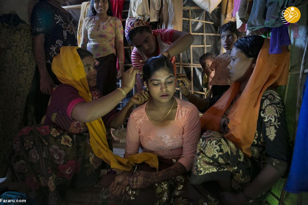 ازدواج اجباری کودکان آواره روهینگیایی