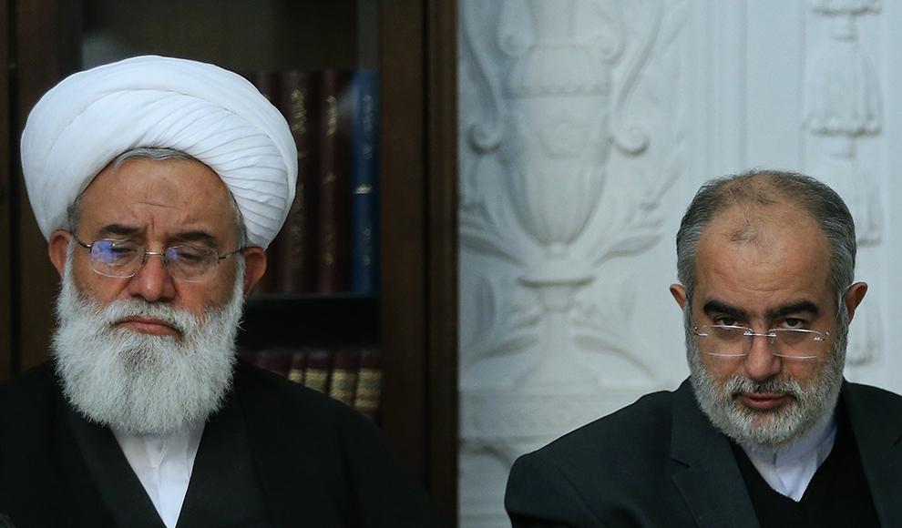 دیدار وزیر خارجه اسبق انگلیس با ظریف. (عبدالله حیدری/ ایرنا)