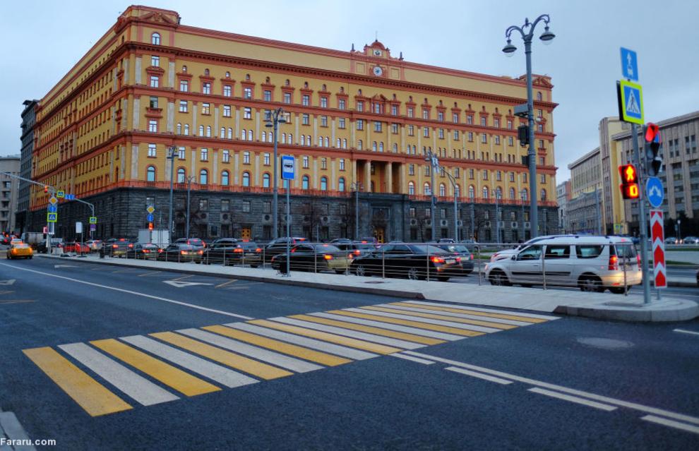 ساختمان سازمان امنیت فدرال در میدان لوبیانسکی در مسکو 2017