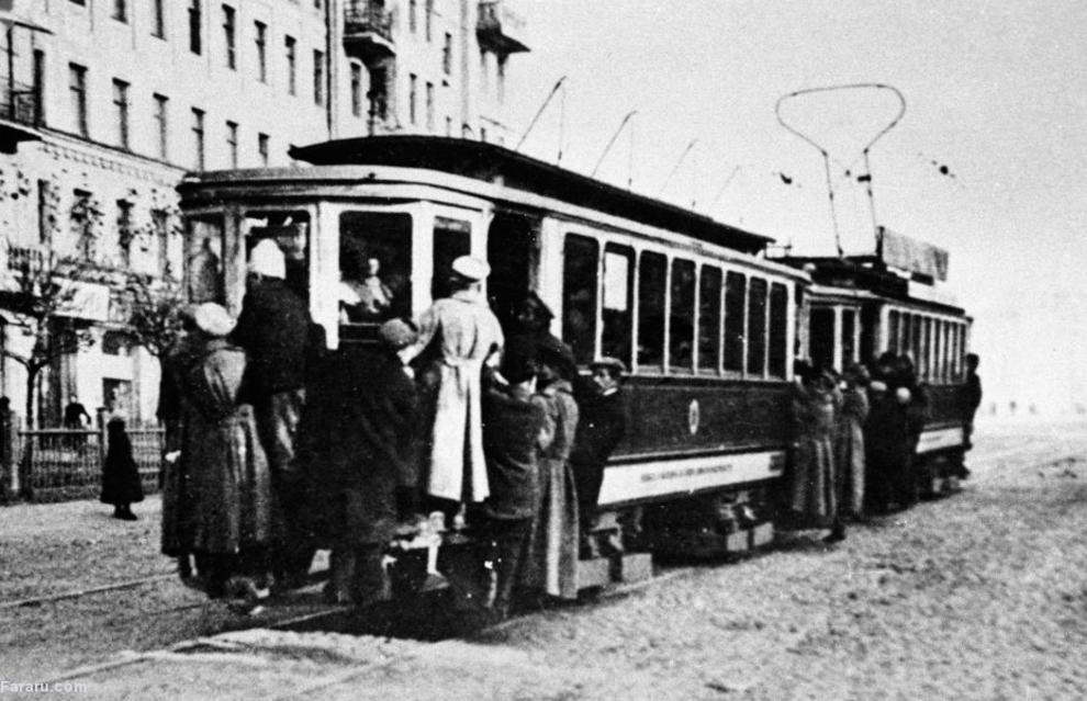 تراموای مسکو 1925