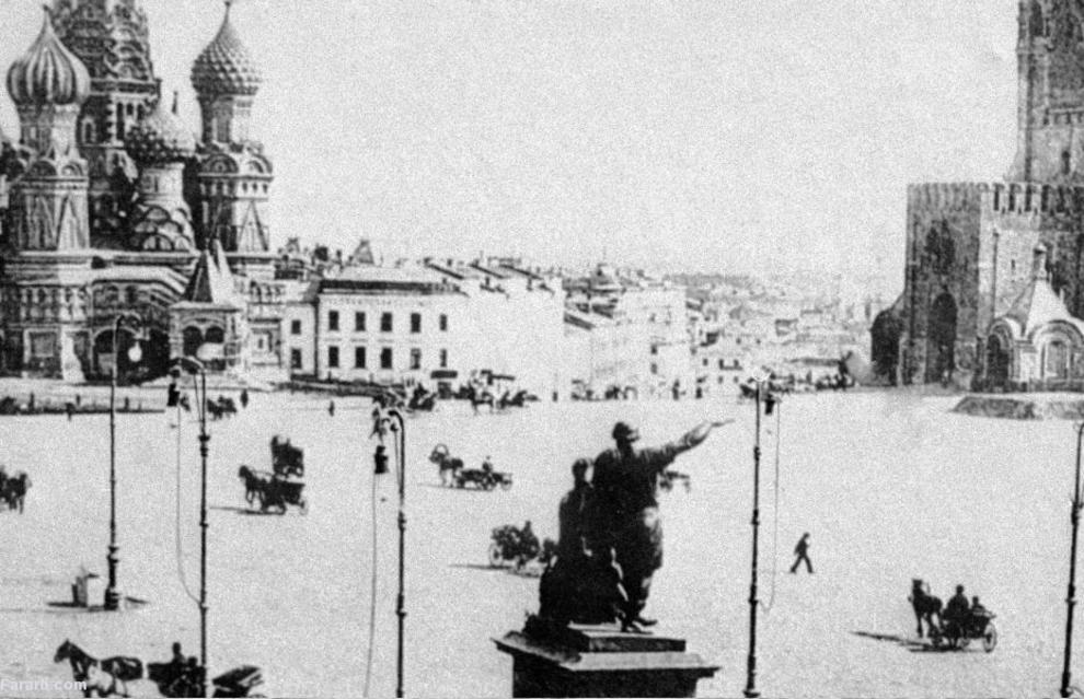 میدان سرخ در مسکو 1896