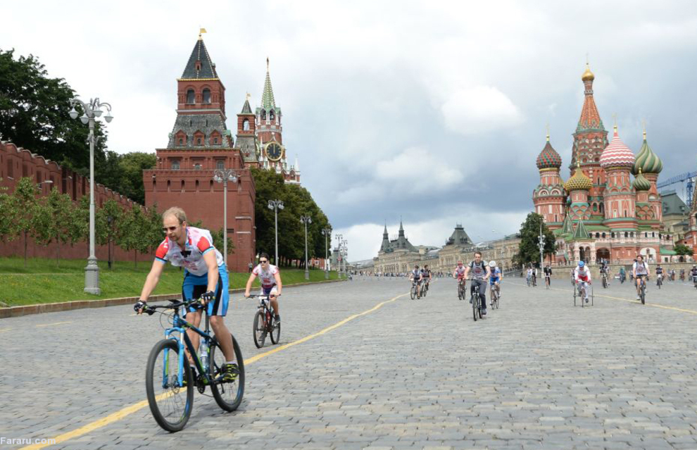 میدان سرخ در مسکو 2015
