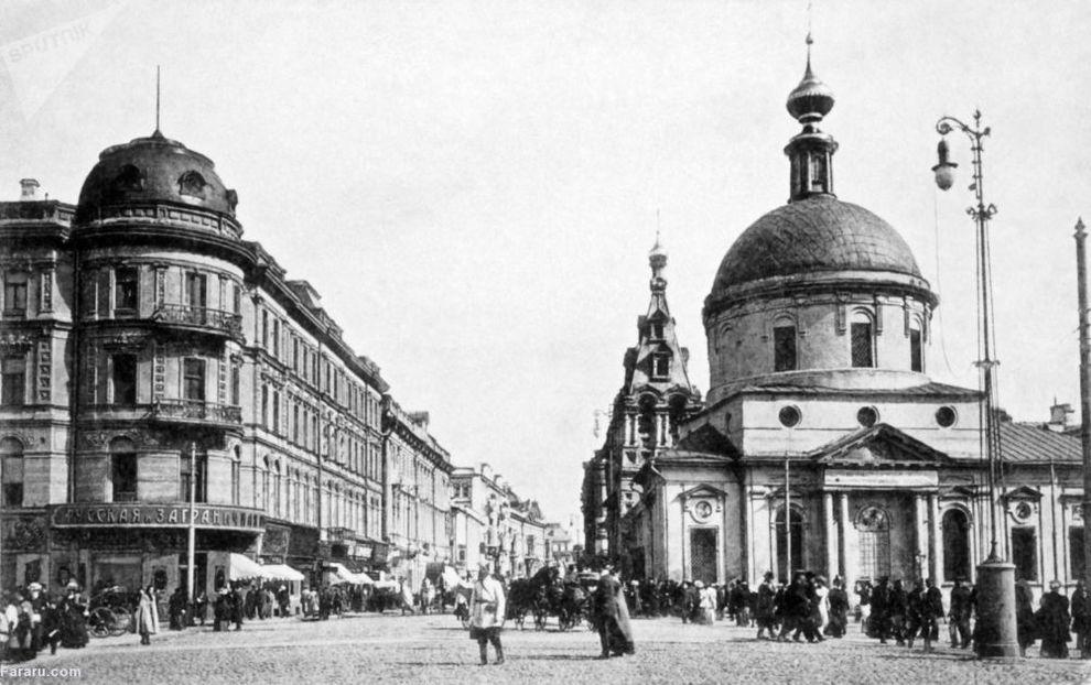 خیابان تورسکی در مسکو 1914
