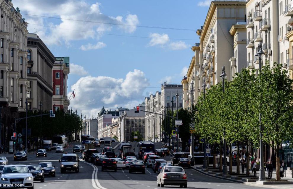 خیابان تورسکی در مسکو 2017
