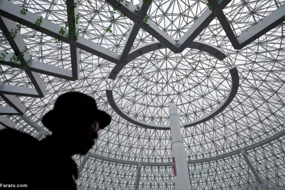 (تصاویر) ساختمانهای مدرن و بی نظیر و زیبا در کره شمالی منزوی