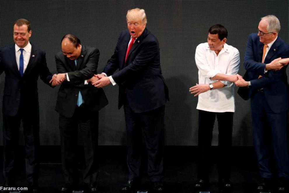 گاف ترامپ در مراسم افتتاحیه آسه آن در مانیل