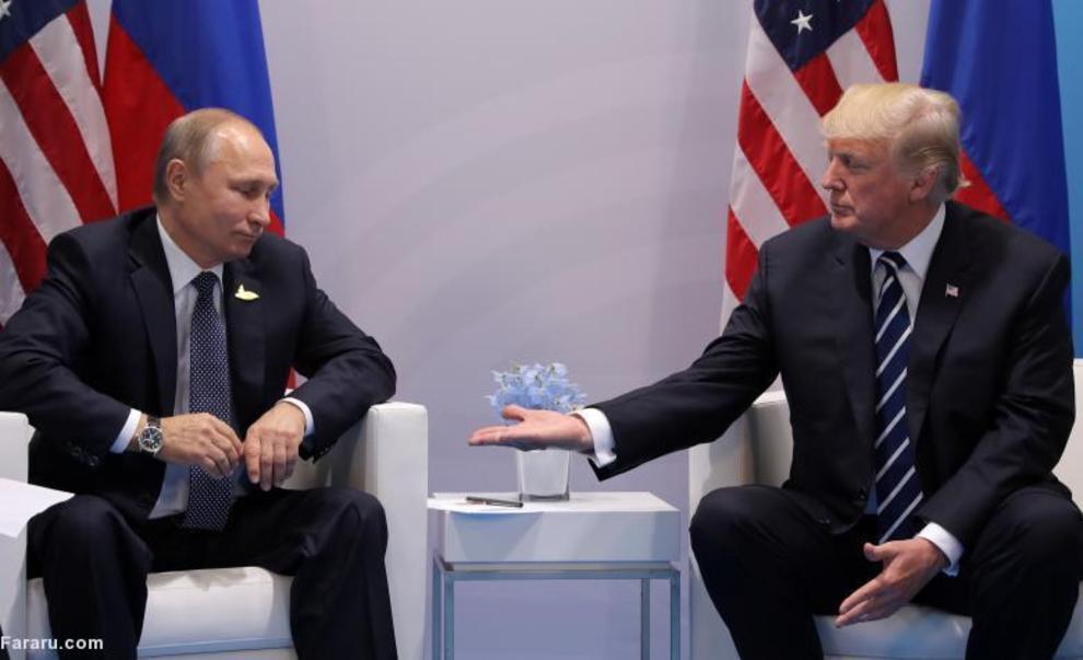 ترامپ و پوتین در حاشیه نشست G20 در هامبورگ