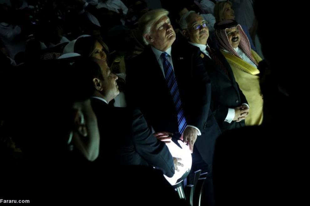ترامپ در سفر به ریاض