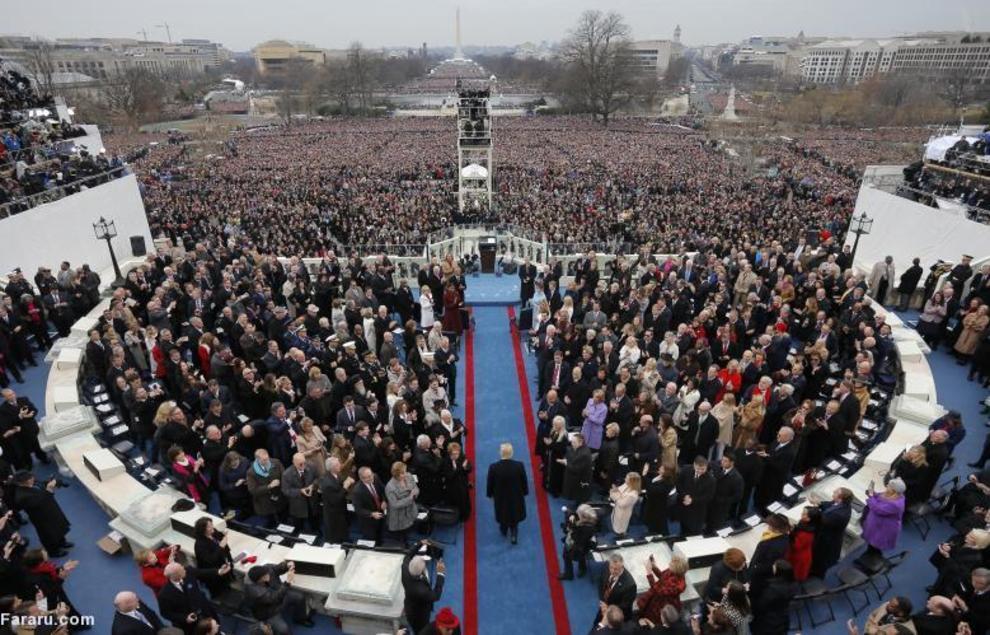 مراسم ریاست جمهوری ترامپ به عنوان چهل و پنجمین رییس جمهور ایالات متحده آمریکا
