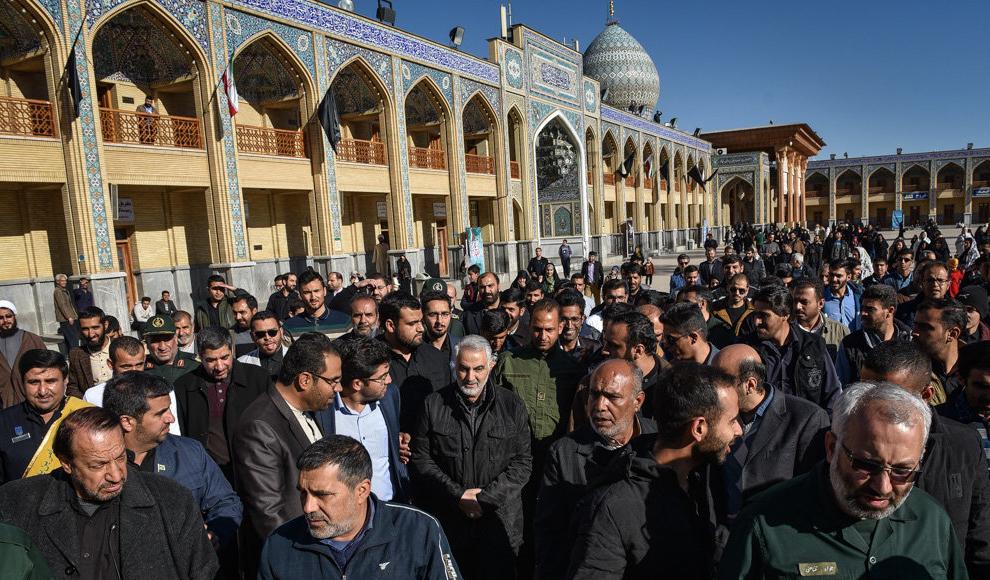 دیدنی های امروز: افتتاحیه جشنواره فیلم فجر، سردار سلیمانی در شیراز و ...
