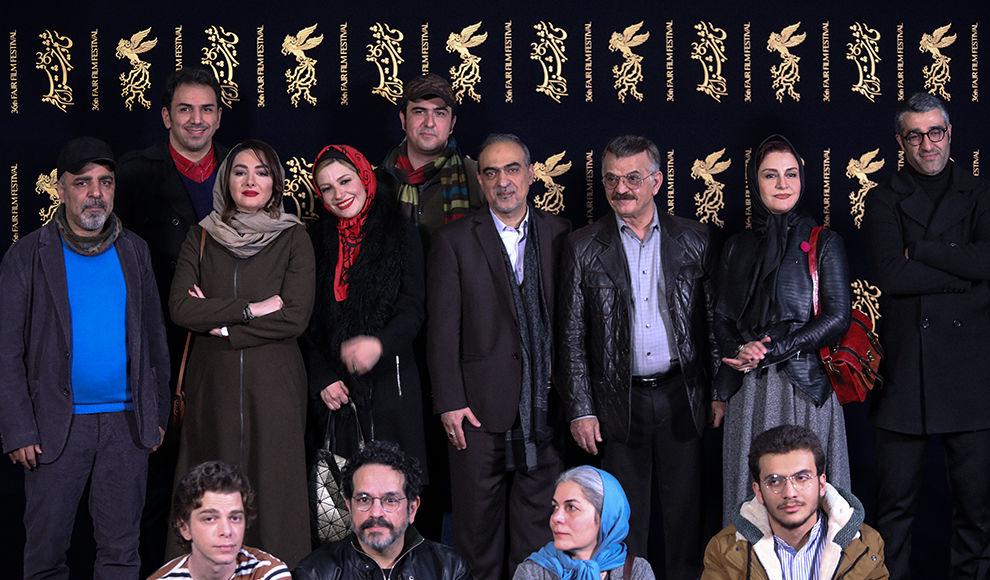 هشتمین روز جشنواره فیلم فجر با حضور عوامل فیلم( مصادره) . ( نجاتی - نیک نام – سلطانیه/ برنا)