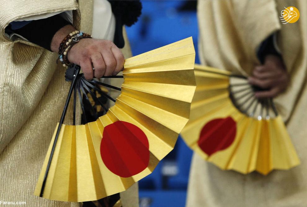 هواداران ژاپنی در بازی های المپیک زمستانی