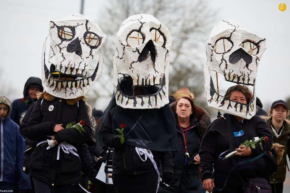 تظاهرات حامیان پارک گون هه، رییس جمهور سابق کره جنوبی. (گتی ایماژ)