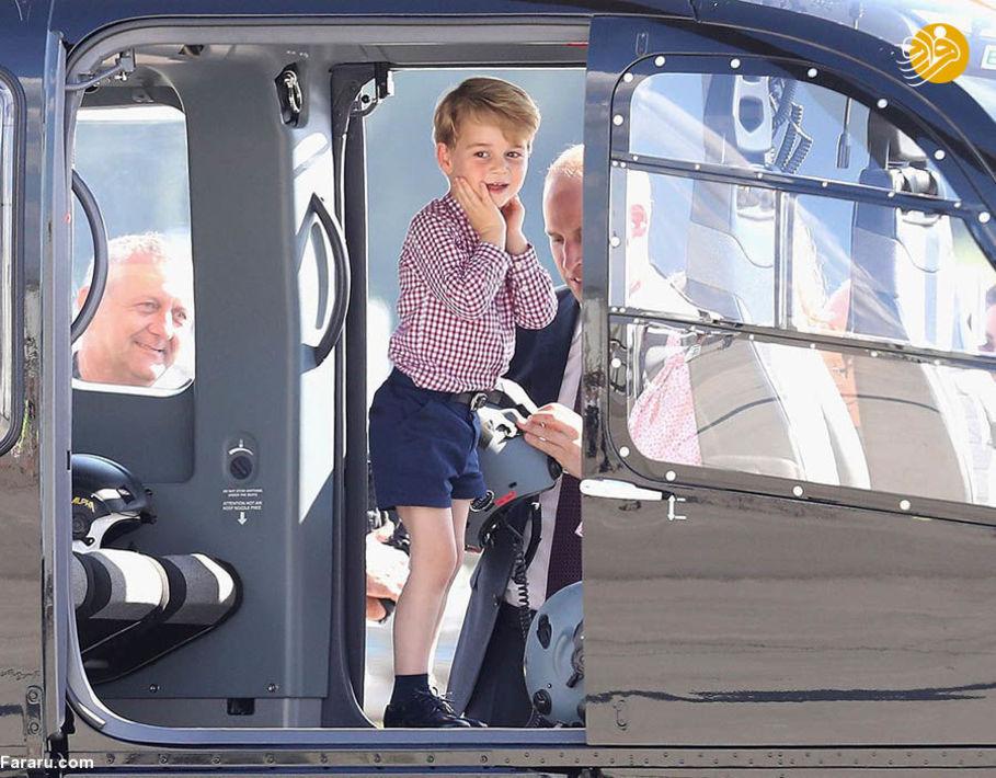 شاهزاده جرج در تور آلمان