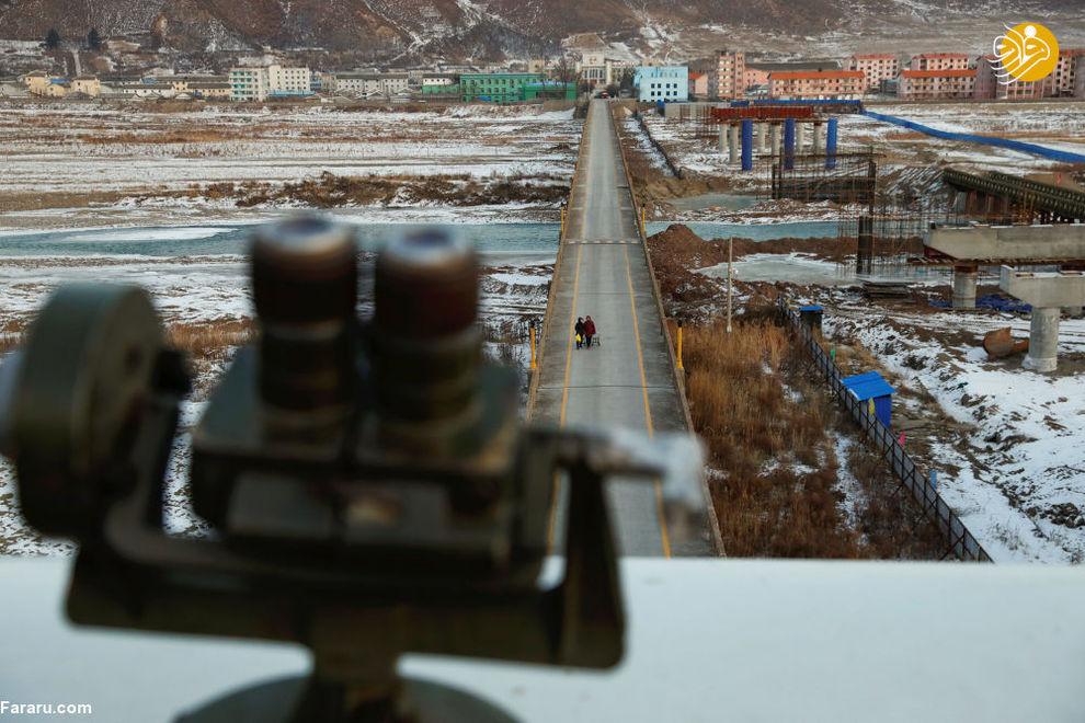 ساکنان کره شمالی از پشت دوربین در مرز چین
