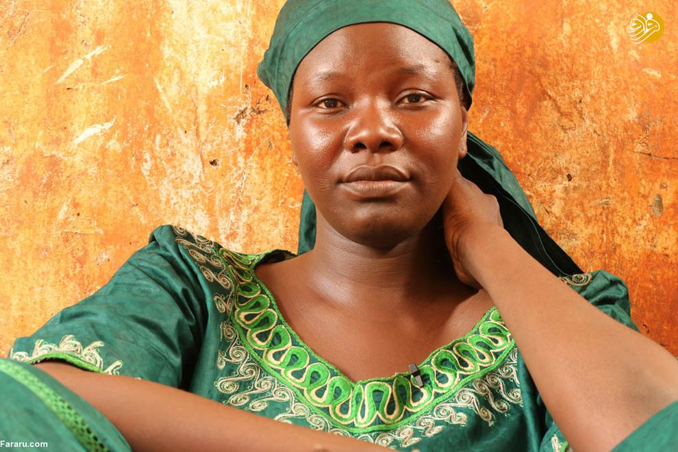 عایشه حتی زمانی که در ماموریت نیست هم نگران زنان و کودکان ربوده شده است