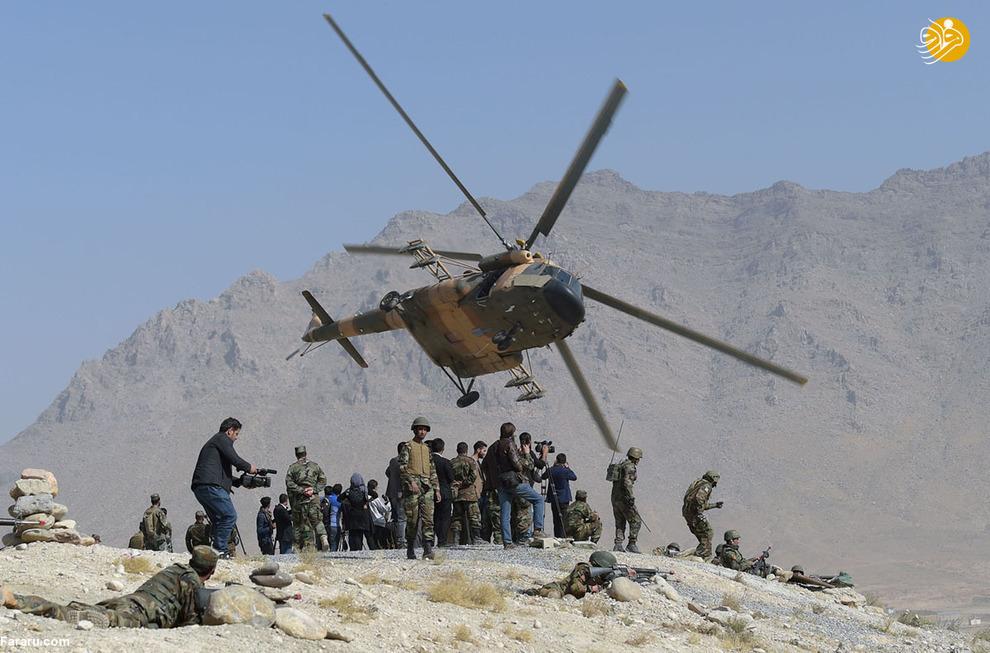 تمرین مرکز آموزش نظامی کابل در حومه این شهر