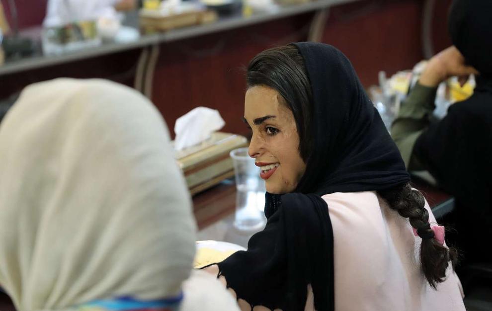 (تصاویر) دیدار دختران «شینآبادی» با معصومه ابتکار
