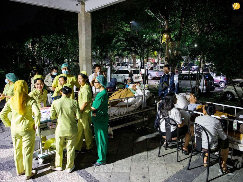 (تصاویر) خسارات زلزله 7 ریشتری در اندونزی