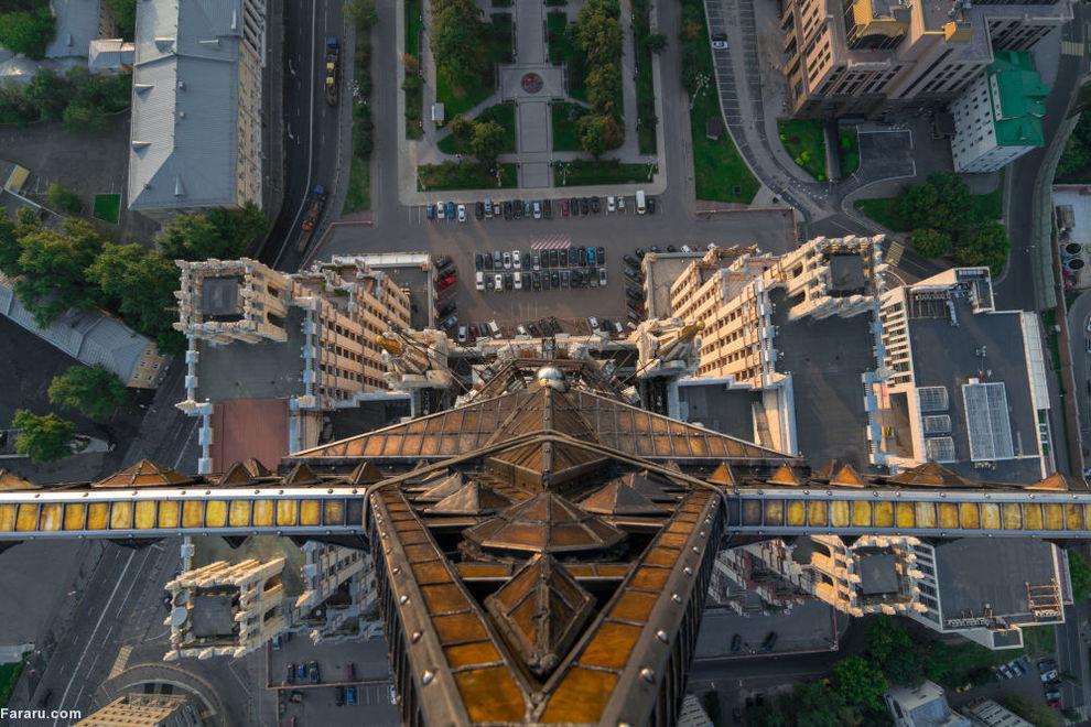 خانه مسکونی در میدان کودرینسکی مسکو