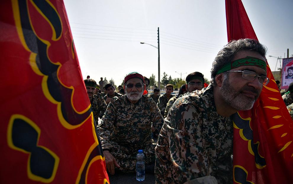 مراسم وداع با پیکر شهید ابوالفضل کلهر پس از 36 سال. (مهر/ سعیدرضا رضوی)