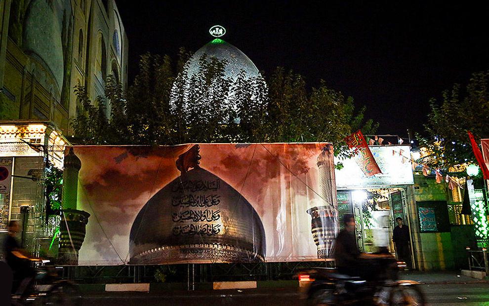 دومین شب مراسم عزاداری در خانه کارگر. (ایلنا/ علیرضا رمضانی)