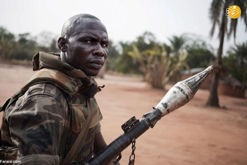 سرباز آفریقای جنوبی