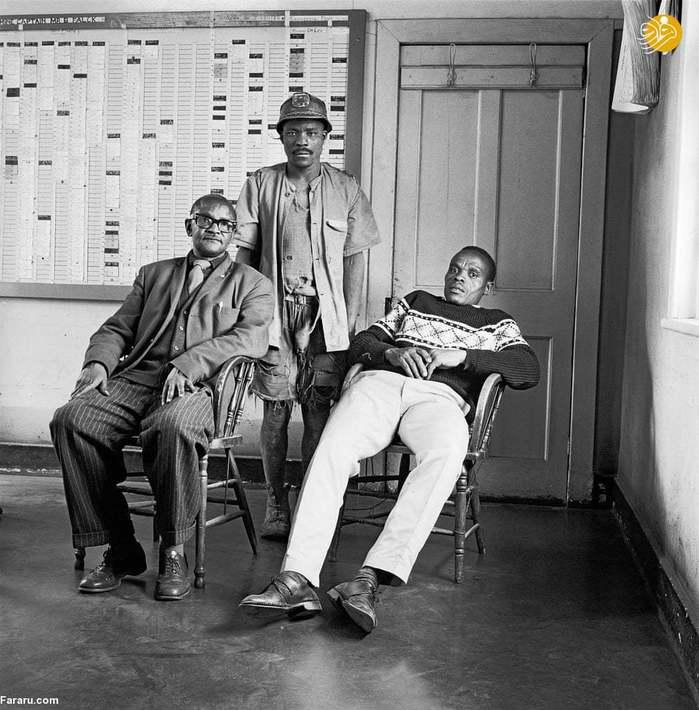 (1966) کارکنان معدن ژوهانسبورگ