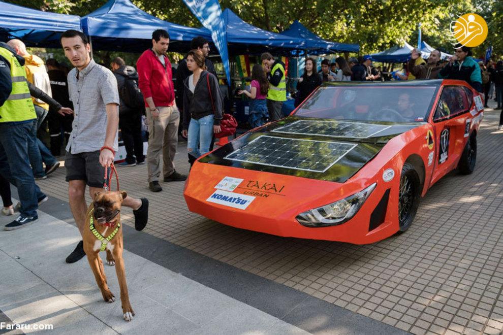 مسابقه خودروهای خورشیدی در شیلی/تصاویر