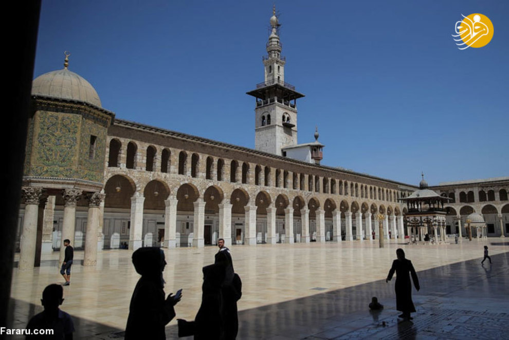 مسجد جامع امویان دمشق