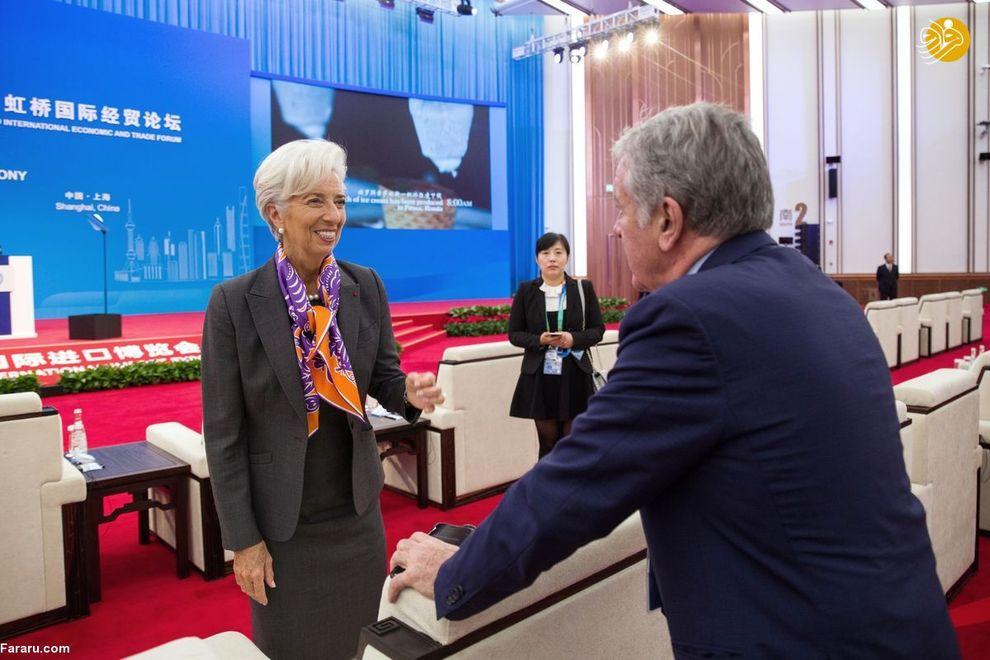 کریستین  لاگارد رئیس صندوق بین المللی پول در سخنرانی خود خواستار اصلاحات اقتصادی شد