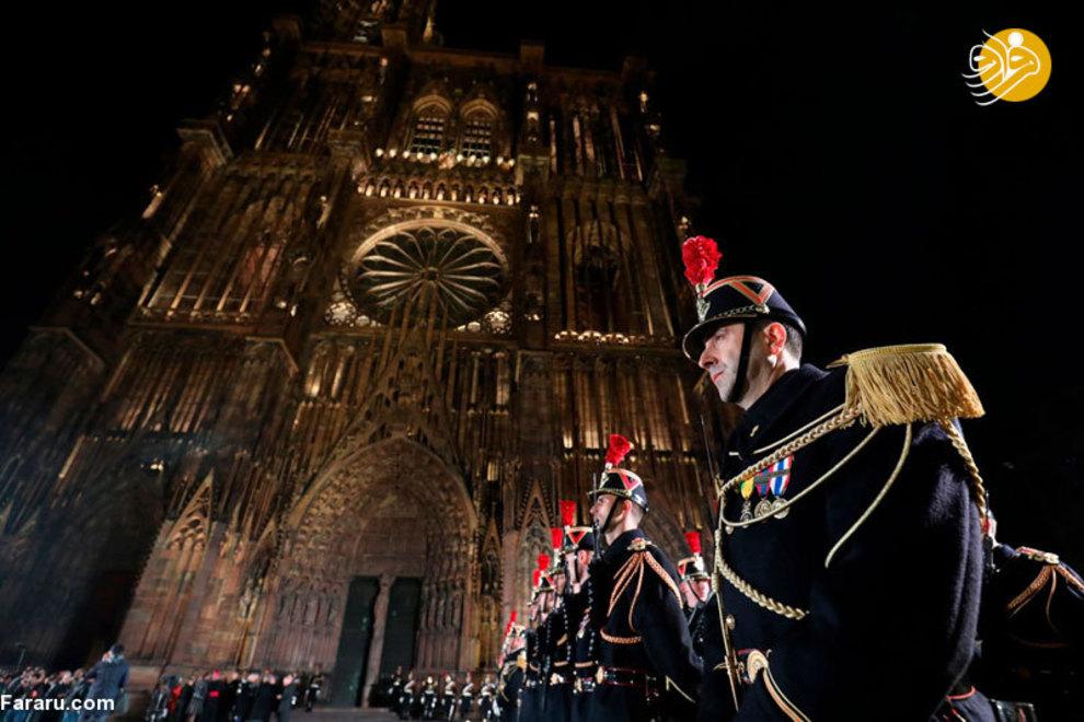 نیروهای امنیتی فرانسه در حال آماده شدن برای مراسم 11 نوامبر که رهبران کشورهای مختلف در آن حضور خواهند یافت.