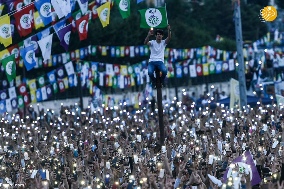 مبارزات انتخاباتی در استانبول ترکیه (2017)
