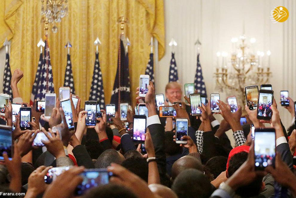 نشست خبری دونالد ترامپ در سال 26 اکتبر 2018