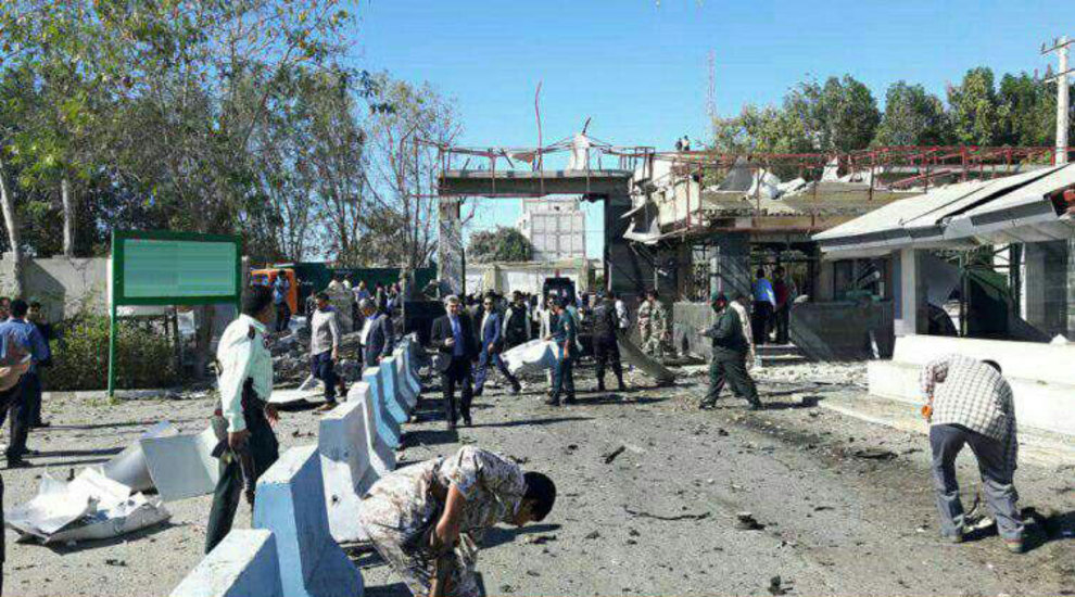اولین تصاویر از محل حمله تروریستی چابهار