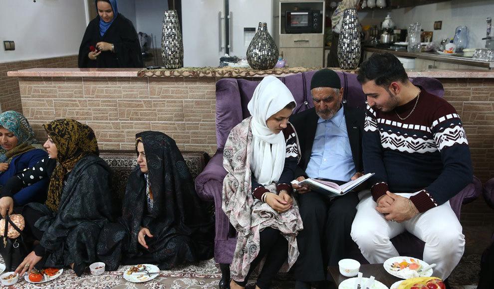 شب یلدا در سرای سالمندان. (مهر/امیر علی رزاقی)