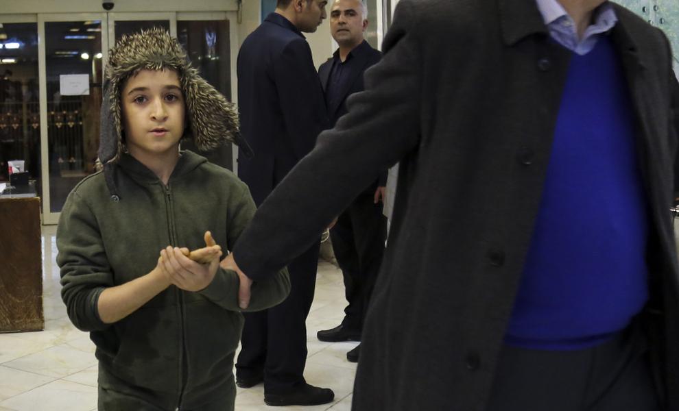 (تصاویر) کودکان مصدوم چهارشنبهسوری 97 در بیمارستان