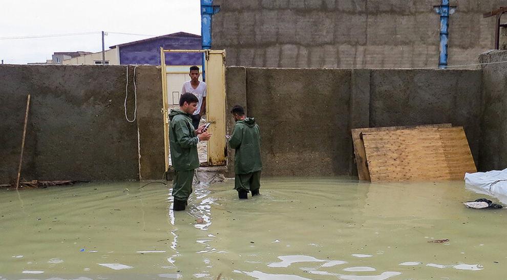 (تصاویر) سیل و آبگرفتگی در جزیره قشم - 8