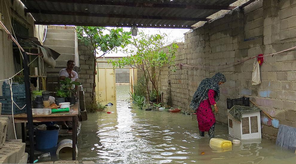 (تصاویر) سیل و آبگرفتگی در جزیره قشم - 11