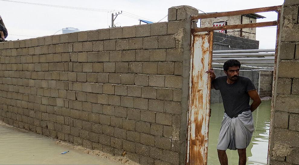 (تصاویر) سیل و آبگرفتگی در جزیره قشم - 17