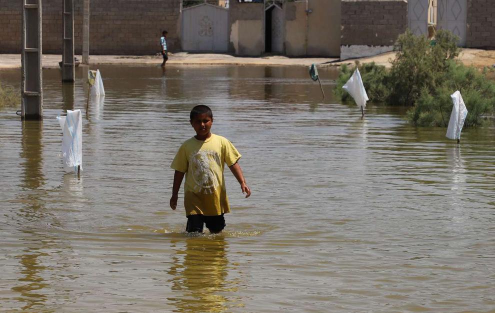 (تصاویر) روستای سیلزده «ابوشلوگ» در شادگان - 27