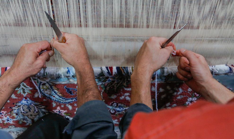 (تصاویر) کارگاه قالیبافی در زندان کاشان - 18