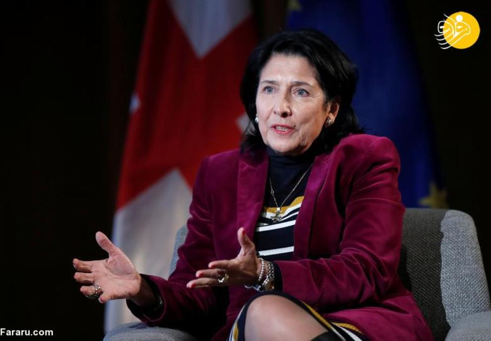 سالومه زورابیشویلی رئیس جمهور گرجستان، شروع کار از 16 دسامبر 2018