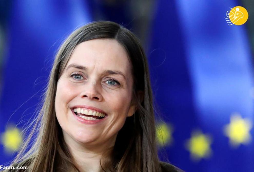 کاترین یاکوبسدوتیر نخست وزیر ایسلند، شروع کار از 30 نوامبر 2017